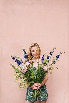 Blumenmädchen von Lotte de Graaf