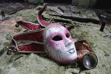 Vergessene Maske von Berend Bosch