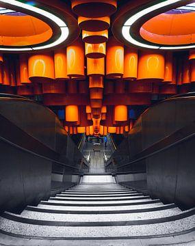 Metrostation Brussel van Dennis Donders
