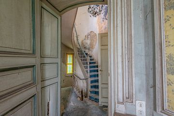 Blaue Treppe von Lien Hilke