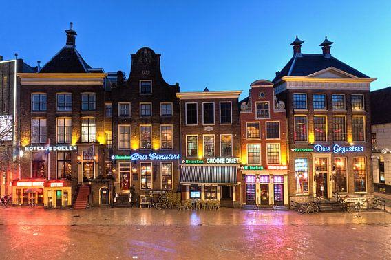 Zuidwand Grote Markt Groningen van Frenk Volt
