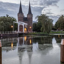 Delft Oostpoort 1 sur John Ouwens