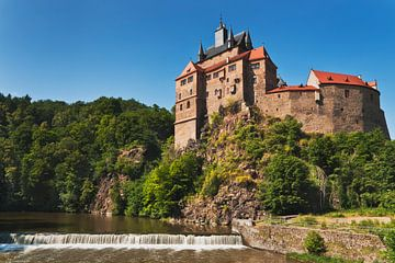 Kriebstein Castle van Gunter Kirsch