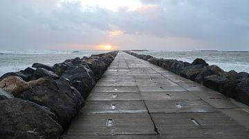 Hvide Sande pier van BVpix