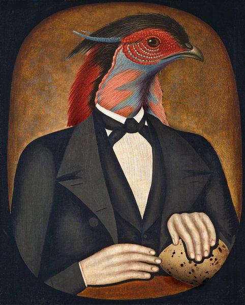 Portrait of a Father sur Marja van den Hurk