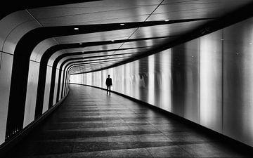Tunnel à la gare de King's Cross à Londres sur Natasja Tollenaar