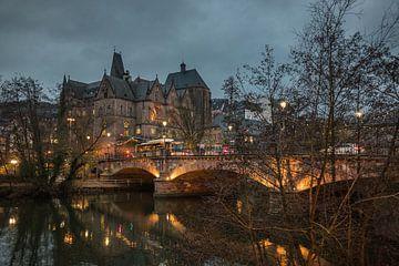 Abendstimmung in Marburg an der Lahn