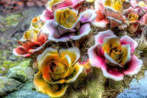 HDR bloemstuk van