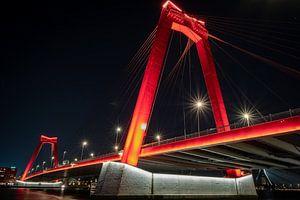 Willemsbrug Rotterdam van