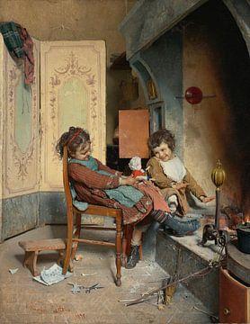Freuden der Kindheit, Gaetano Chierici