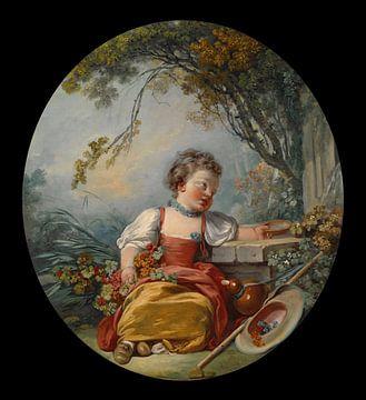 François Boucher - The Little Pilgrim sur