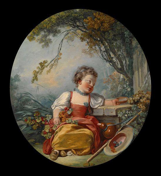 François Boucher - De Kleine Pelgrim van 1000 Schilderijen