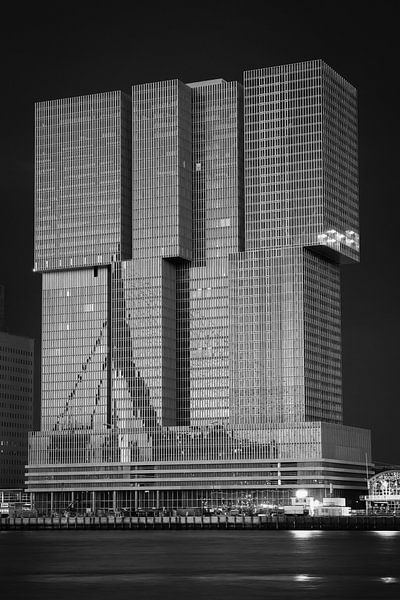 De Rotterdam in zwart wit