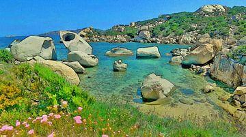 Sardinië - Le Piscini di Porto Cuncatu - Costa Smeralda van Dirk van der Ven