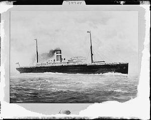 Historische SS Rotterdam foto van