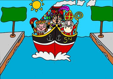 SUZ - Pakjesboot van AG Van den bor