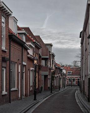 Gezellige straat in Bergen op Zoom sur Kim de Been