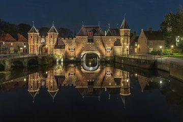 Amersfoortse koppelpoort by night von Karin Riethoven