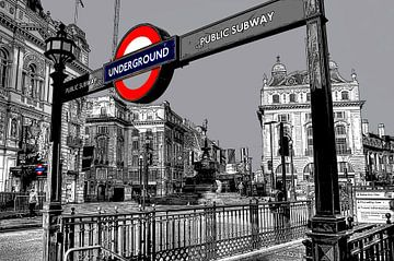 Piccadilly Londen van Rene Ladenius