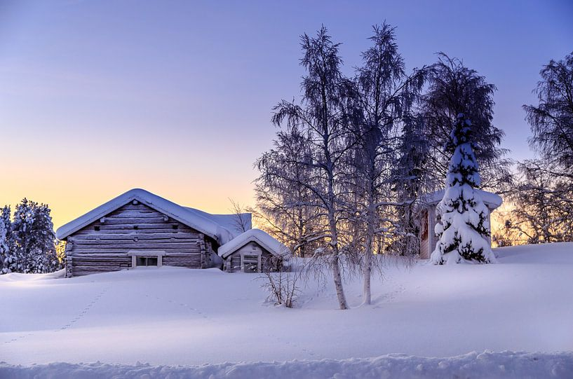 Winterwonderland van Robert Riewald