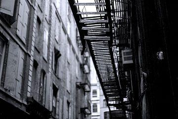 Brandttrappen - New York City van Marcel Kerdijk