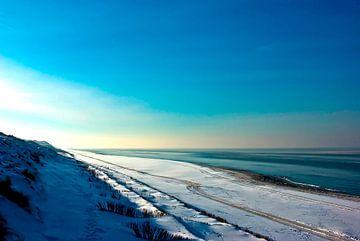 Sylt: Winter at the North Sea van