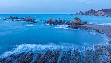 Playa de la Gueirua van