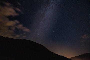 La voie Lactée / Perséides sur Jozef Gyant