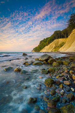 Morgen an der Kreideküste von Martin Wasilewski
