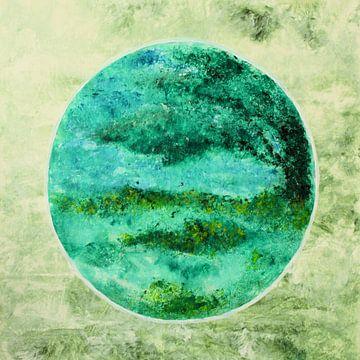 Baum im Kreis von Greta Lipman