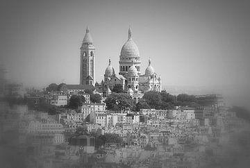 Paris, Blick auf die Sacré Coeur von Ineke de Rijk