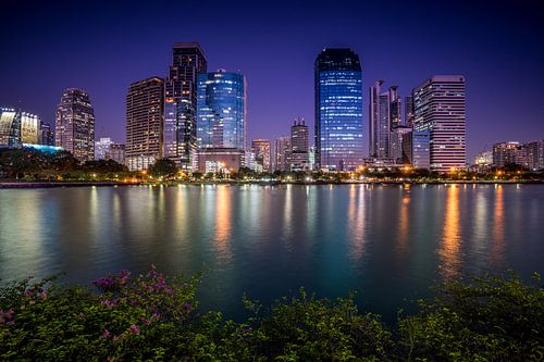 Bangkok reflections van