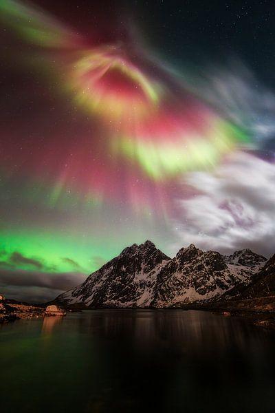 Magie van het noorderlicht. van Sven Broeckx