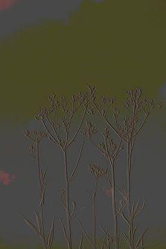 4. Minimalisme, boutons de fleurs. sur Alies werk