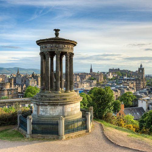 Edinburgh Calton Hill (square) van Michael Valjak