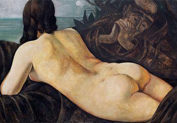 Vision des Heiligen Antonius in Padua (Diptychon) - 2 von 2, Anita Rée, 1930 von Atelier Liesjes