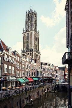 De Dom van Utrecht en de Vismarkt van De Utrechtse Grachten