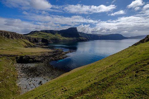 Zeelandschap in Schotland