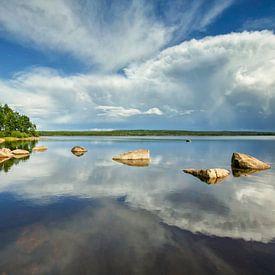 Suède, Storsjön sur Fonger de Vlas