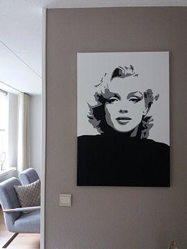 Klantfoto: Marilyn Monroe van Harry Hadders