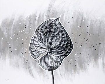 Stille Blume von ART Eva Maria