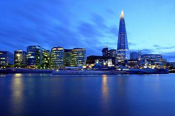 Blauw Londen van Patrick Lohmüller