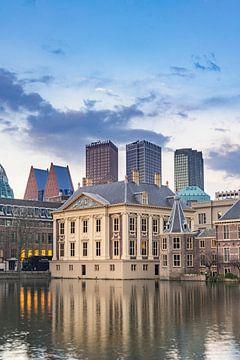 Mauritshuis Den haag bij schemering van