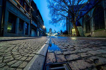 Ochtend fotografie van Gent de hoofdstad van Oost-Vlaanderen von Marcel Derweduwen