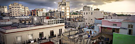 Sunset Havana, Cuba van Henri Berlize