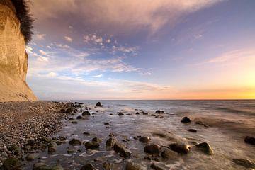 Kreideküste am Morgen von Marko Sarcevic