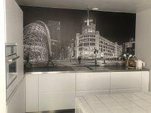 Klantfoto: Eindhoven Lighttown van Edwin van Aalten, op naadloos behang