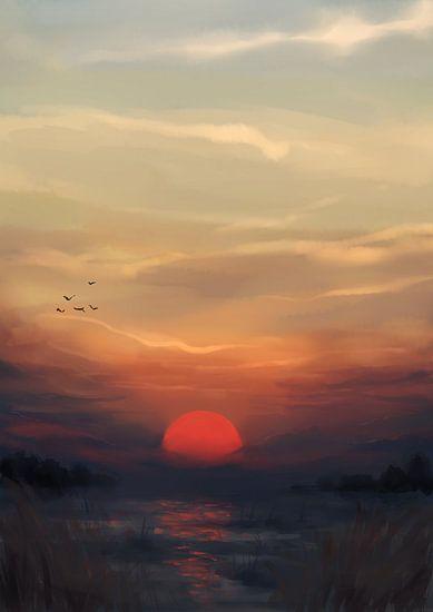 Rode Zon van Petra van Berkum