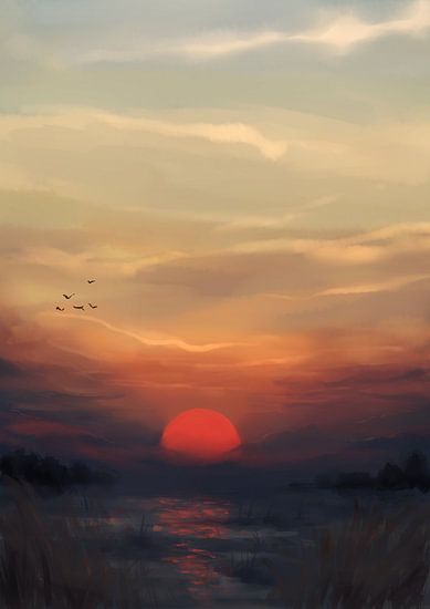 Rode Zon