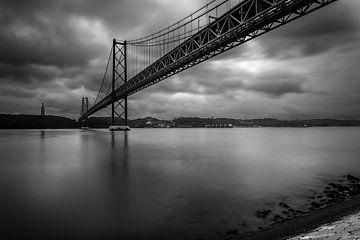 Ponte 25 de Abril, Lissabon von Jens Korte